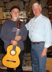 Steve Mullins with Ron Bushman 2011