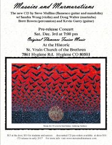 CD pre-release concert